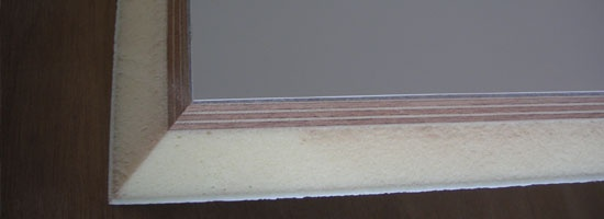Foam plywood composite panel