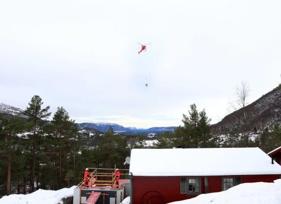 Hyttetilbygg Bruvikdalen - Referanse Arkoconsult