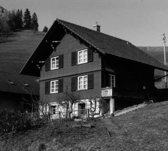 EFH Zwahlen von Niederhäusern Guggisberg, Vorher - Vifian Architekten