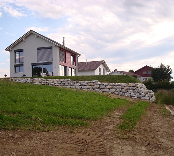 Neubau EFH Flückiger, Schwarzenburg - Vifian Architekten