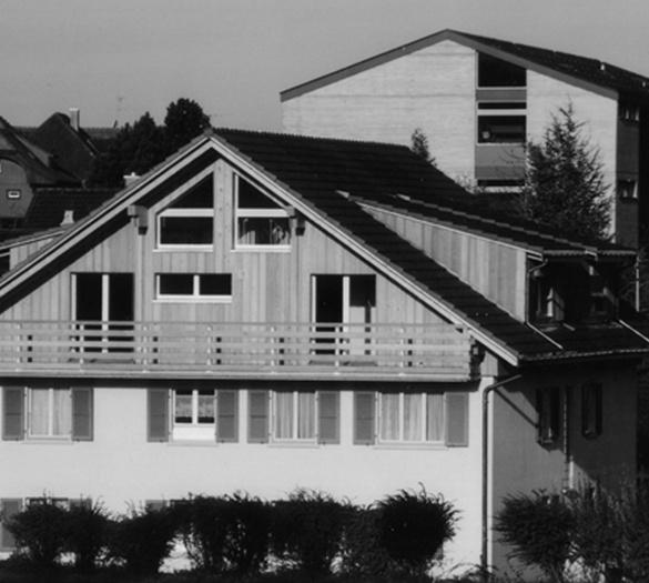 Mehrfamilienhaus Billeter Schwarzenburg, Aufstockung - Vifian Partner