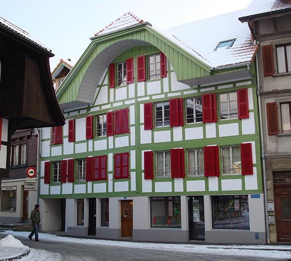 Dorfplatz 20, Schwarzenburg, Gesamtsanierung - Vifian Architekten