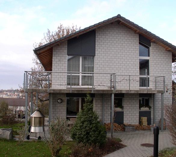 Gewerbebauten Bern - Neubau EFH Hauert Schwarzenburg - Vifian Architekten