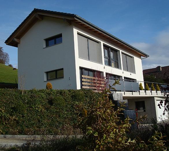 Neubau EFH von Niederhäusern, Minergie Standart - Vifian Architekten