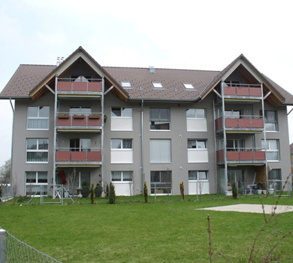 Vifian - Mehrfamilienhaus Schufle Schwarzenburg - Vifian Architekten
