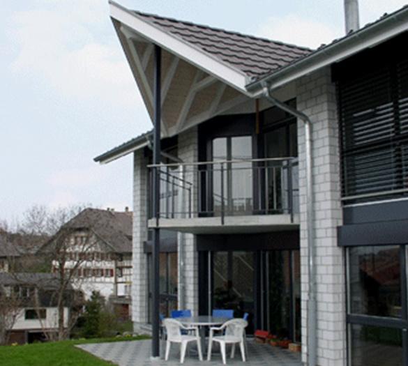 Umbauten Bern - Neubau EFH Rohrbach Schwarzenburg - Vifian Architekten