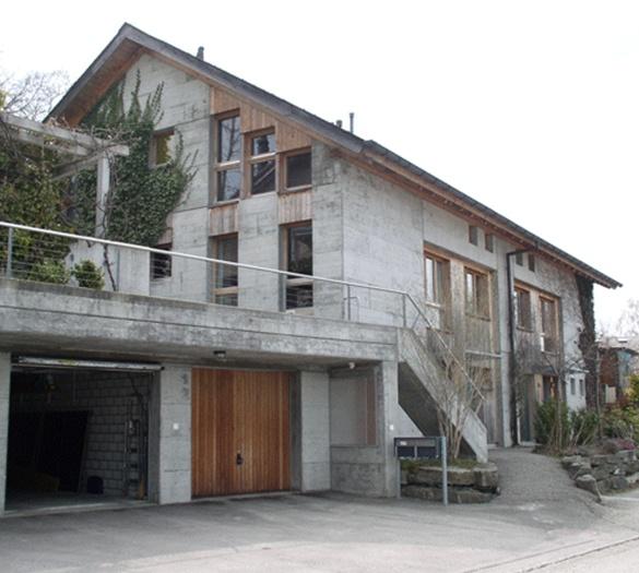 Neubau Doppel-EFH Binggeli Schwarzenburg - Vifian Architekten