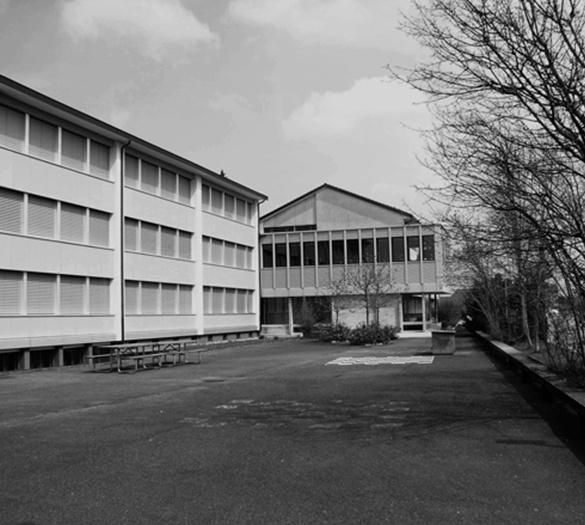 Oberstufenzentrum Schwarzenburg, nachher, Aufstockung - Vifian Architekten