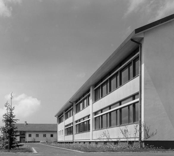 Oberstufenzentrum Schwarzenburg, vorher - Vifian Architekten