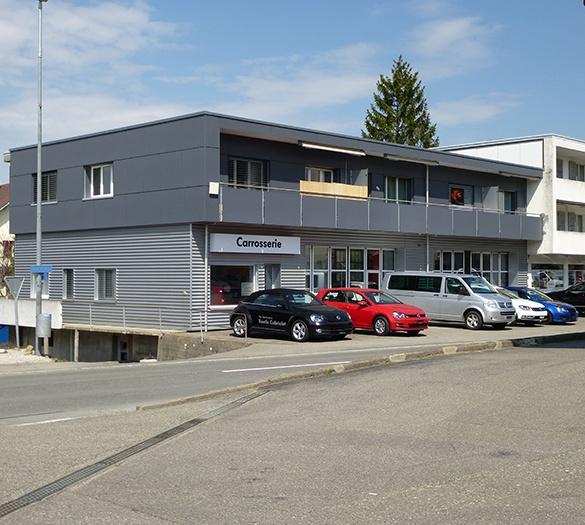 Öffentliche Bauten - Garage corpataux, Schwarzenburg - Vifian Architekten
