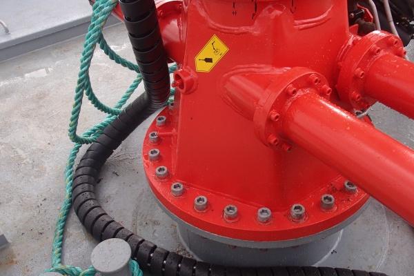 Reparasjon hydraulisk krane - Hycom