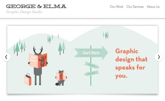 George & Elma Graphic Design Studio