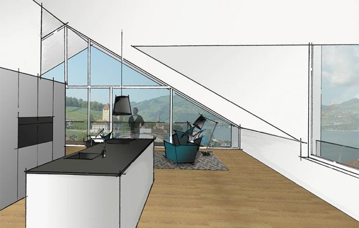 Visualisierung Wohnung Nr. 7
