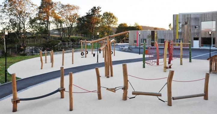 Søreide Skole - Lekeplassen 1
