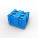 Plast-ax pallet box bin - Dolav compatible