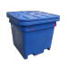 800L Food Processing Bulk Containment Bin - Suitable for Fish, Meat, Fruit, Waste. Stackable and Nestable. 950mm High