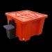 IBC Bunding drip tray dispenser unit