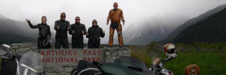 At Arthurs Pass