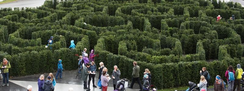 Labyrint ved Lønningen lystgård