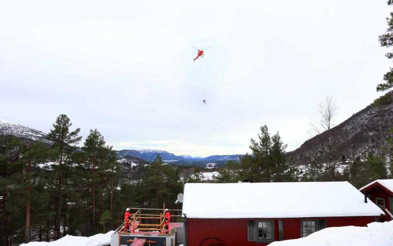 Prosjekt: Hyttetilbygg Bruvikdalen