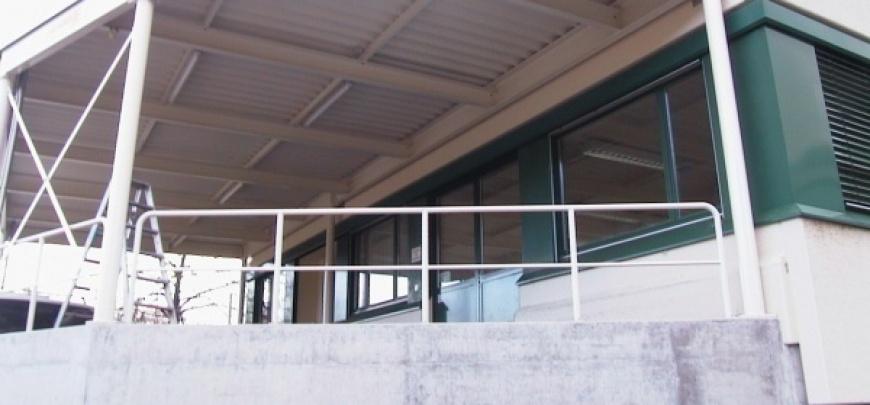 Vorhalle (kleiner Stahlbau)