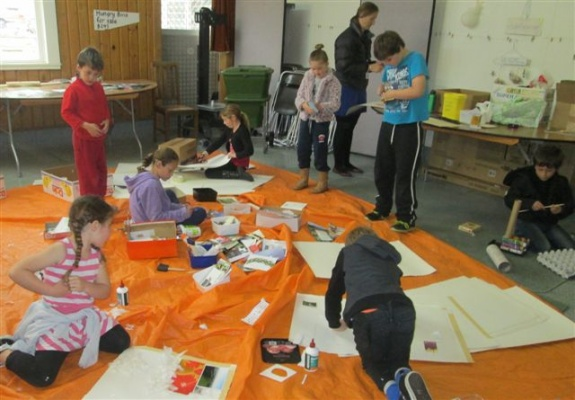 A Holiday Programme on the go in the WRRC Education Room