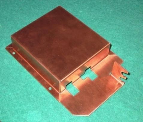 Gehäuse aus Kupfer