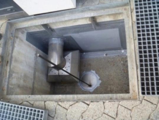 Rückschlaf-Ventil Schacht (Eigenbau)