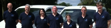 Some of KindWater's friendly team