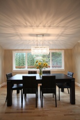 A new dining room light fixture makes all the difference