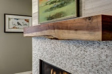 Nip Tuck REmodeling Live Edge Mantle