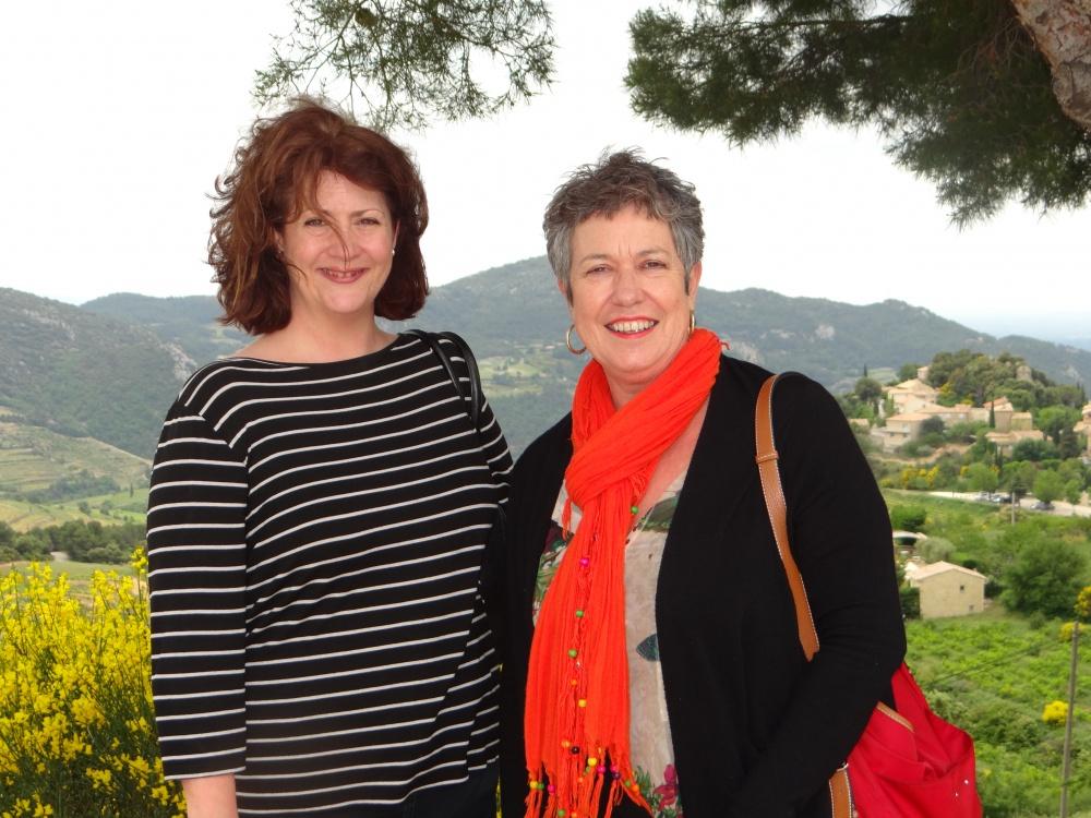 Barbara & Judy from La Ferme Saint-Martin Domaine