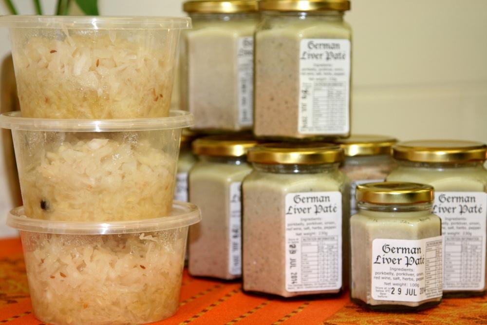Sauerkraut and Pate