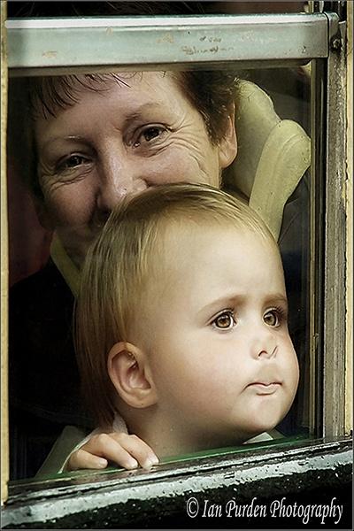 Train ride with Grandma