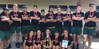 JUNIOR TEAM OF THE YEAR 2017, Ray White Whanganui Sports Awards 17 November 2017 : WHS MIXED TOUCH TEAM !!