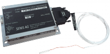 Magnetic field transducer with sliding 3-axis Hall probe