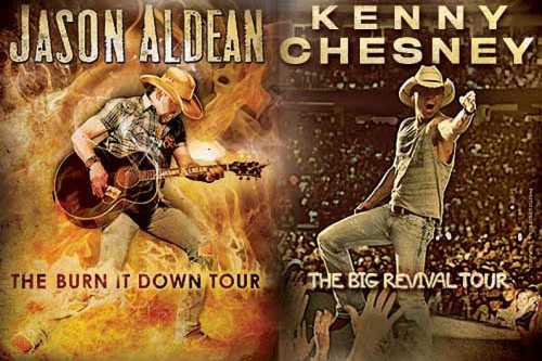 Two of Country's Hottest Superstars! – Kenny Chesney/Jason Aldean - Denver