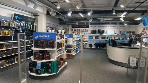 Databutikken på Sartor i 2 etg