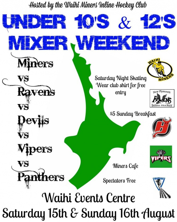 Mixer Weekend Poster 2015