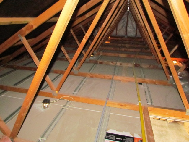House Inspection - No Roof Insulation