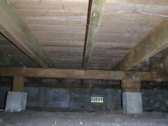 House Inspection - No Underfloor Insulation
