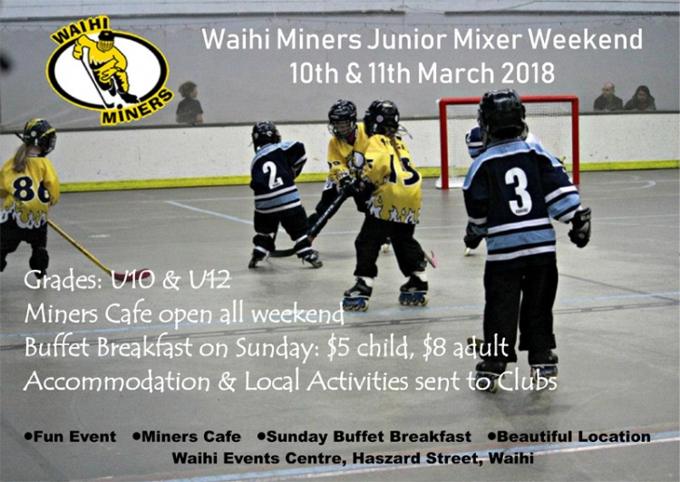 Junior Mixer Weekend 2018